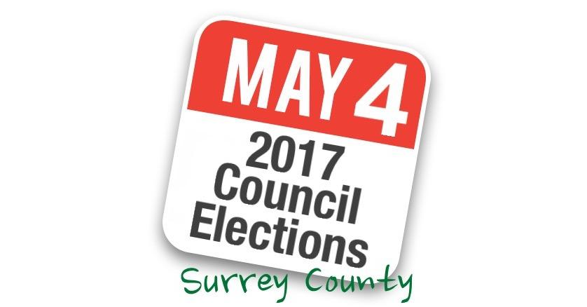 Surrey County Council Election - 4th May 2017