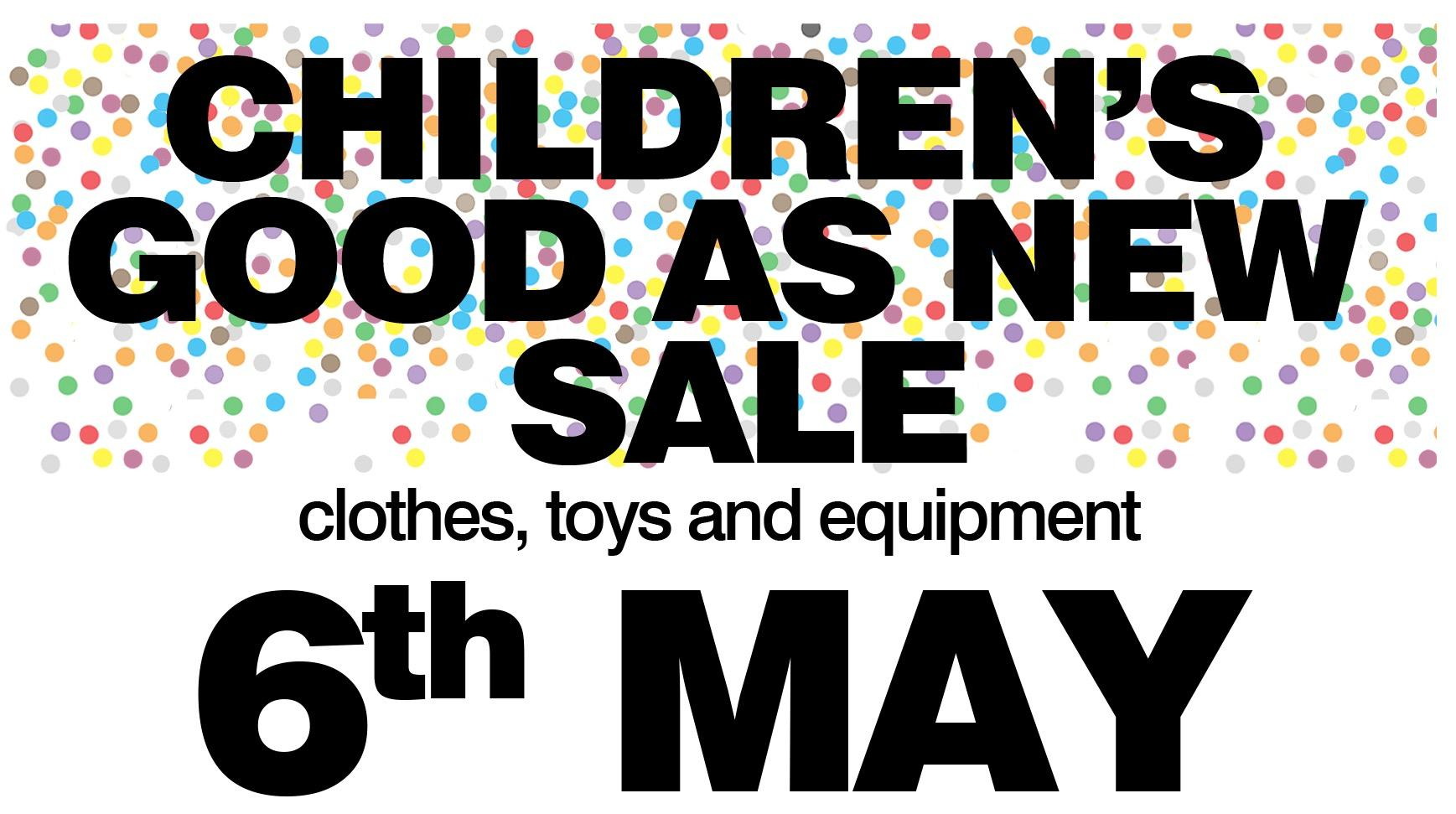 Children's Good As New Sale
