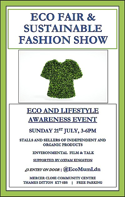 Eco Fair - Sunday 21 July