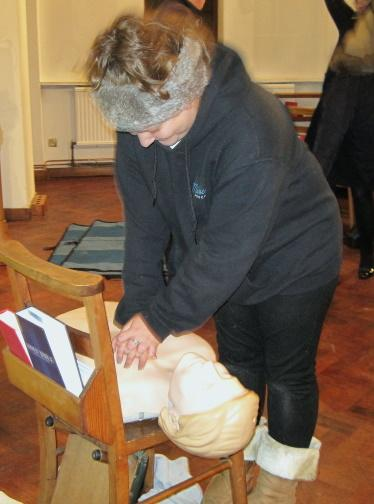 First Aid Trianing All Saints WG2