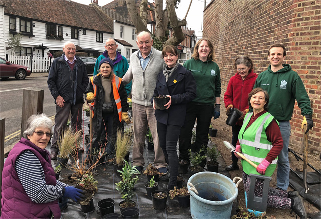 Thames Ditton in Bloom - In Action