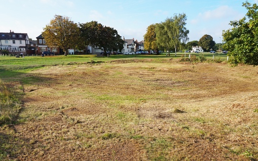 Milbourne Pond before restoration LR2