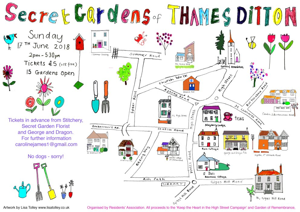 Secret Gardens Of Td Sunday 17 June Residents 39 Association