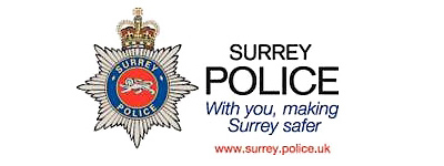 Surrey police logo expanded